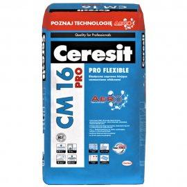 Zaprawa klejowa elastyczna do płytek CERESIT CM 16 PRO Aero 25 kg