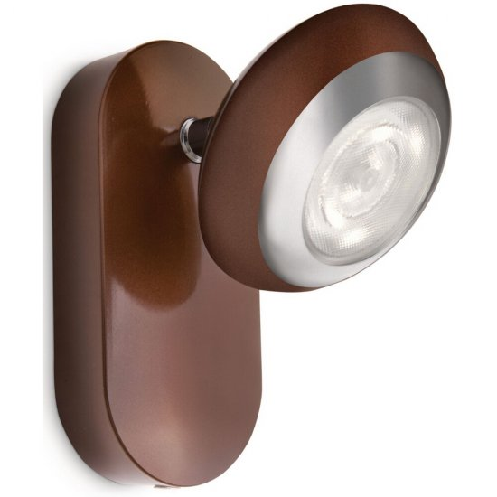 Kinkiet 1x3W SEPIA, LED brąz 57170/44/16 Philips