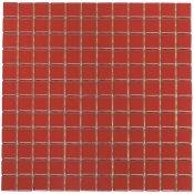 Mozaika PALETTE czerwona błyszcząca 30x30 gat. I