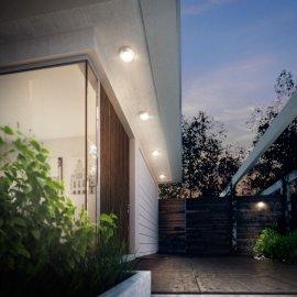 Kinkiet ogrodowy 1x3 W LED, HALO 17291/47/P3 Philips