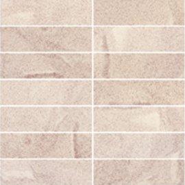 Gres zdobiony SATURN różowy mozaika mat 29,5x29,5 gat. I