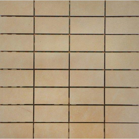 Gres szkliwiony ARENISCA beżowa mozaika mat 29,7x29,7 gat. I