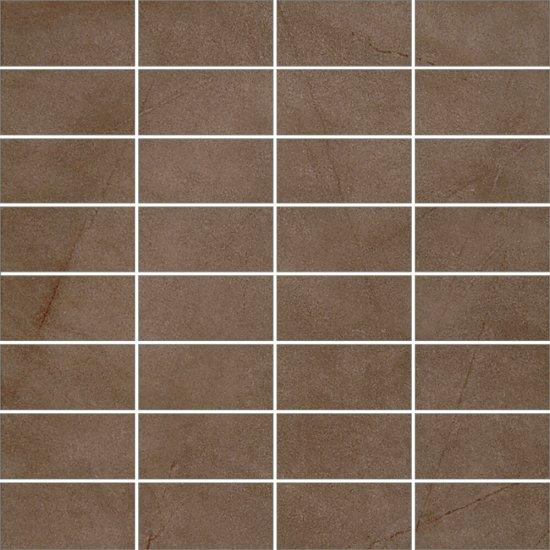 Gres szkliwiony ARENISCA mocca mozaika mat 29,7x29,7 gat. I