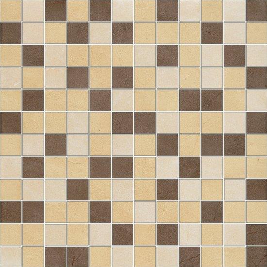 Gres szkliwiony ARENISCA multikolor mix mozaika mat 29,7x29,7 gat. I