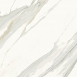 Gres szkliwiony CALACATTA GOLD biały poler 59,8x59,8 gat. I