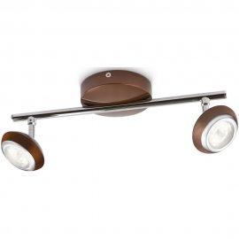 Lampa sufitowa 2x3W SEPIA, LED brąz 57172/44/16 Philips