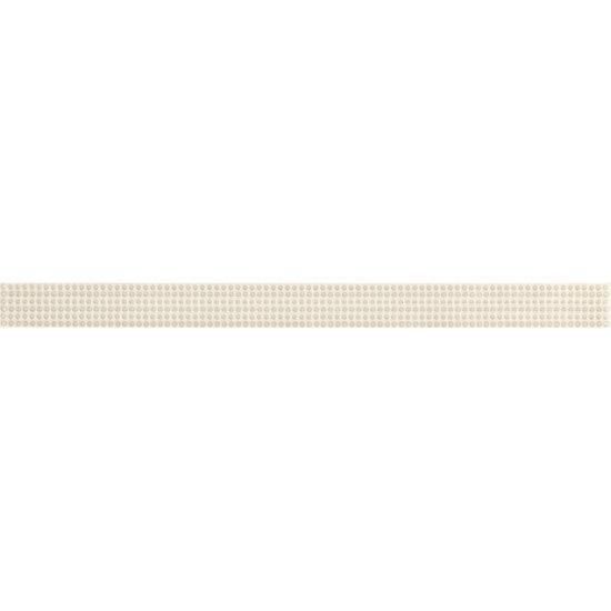 Płytka ścienna ARANCIA kremowa listwa kropki 2,8x40 gat. I