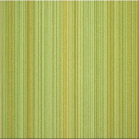 Płytka podłogowa CALIPSO zielona błyszcząca 33,3x33,3 gat. I
