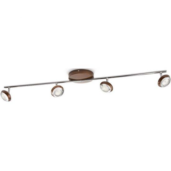 Lampa sufitowa 4x3W SEPIA, LED brąz 57174/44/16 Philips