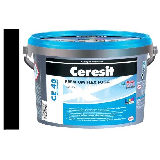 Fuga elastyczna CERESIT CE 40 coal 2 kg