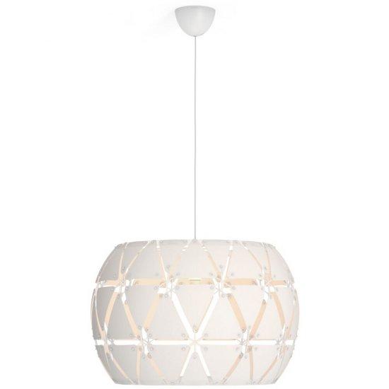 Lampa wisząca 1x60W SANDALWOOD 60 cm, biała 40917/31/PN Philips