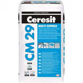Zaprawa klejąca elastyczna do płytek CERESIT CM 29 Multi Express szybkowiążąca 25kg