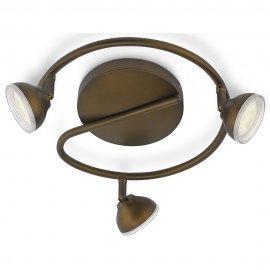 Lampa sufitowa 3x3W TOSCANE, LED brąz 53249/06/16 Philips