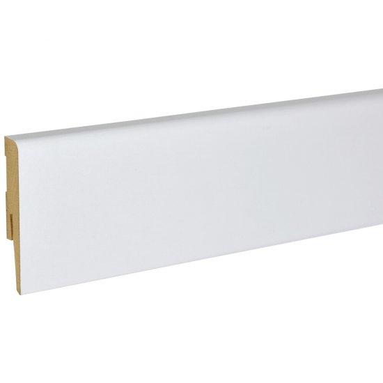 Listwa przypodłogowa Modena 80 Classic biała 2,4 m KORNER