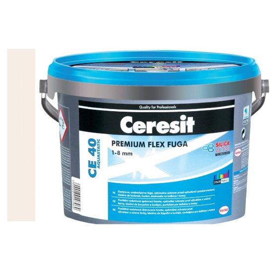 Fuga elastyczna CERESIT CE 40 pergamon 5 kg