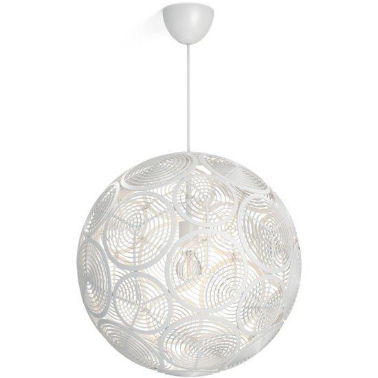 Lampa wisząca 1x60W E27 RING 40913/31/PN Philips