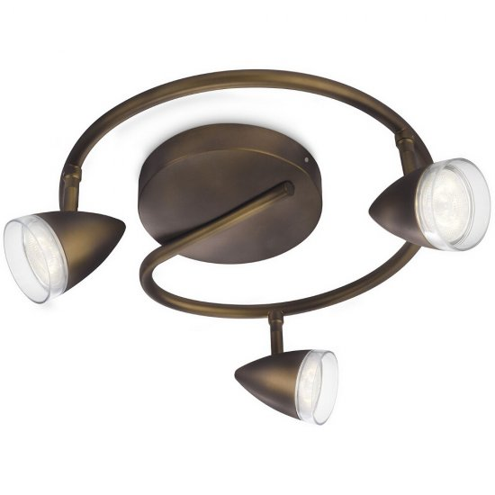 Lampa sufitowa 3x3W MAPLE LED 53219/06/16 Philips