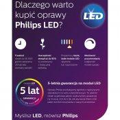 Lampa biurkowa LAMINA 1xLED 67424/30/16 Philips