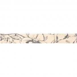 Płytka ścienna HERSA biała listwa błyszcząca 5x40 gat. I