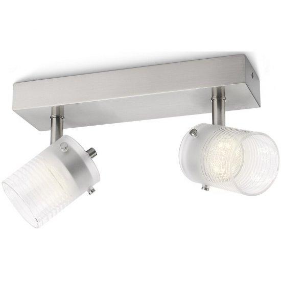 Lampa sufitowa 2x3W TOILE, LED 53262/67/16 Philips