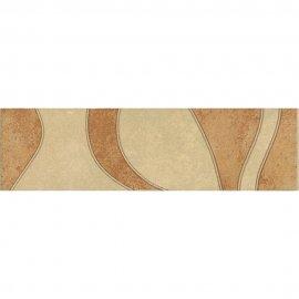 Gres szkliwiony AMUR pomarańczowy listwa poler 9x32,6 gat. I