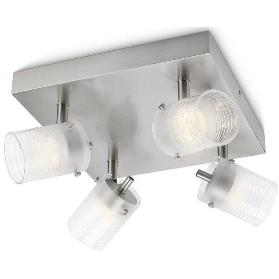 Lampa sufitowa 4x3W TOILE, LED 53269/67/16 Philips