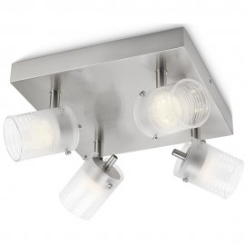 Lampa sufitowa 4x3W TOILE, LED 53269/67/16 Philips
