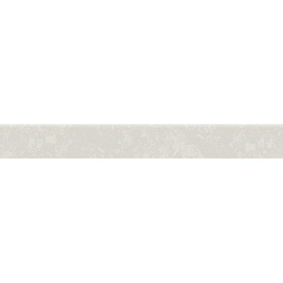 Gres szkliwiony EQUINOX biały cokół mat 7,2x59,3 gat. I