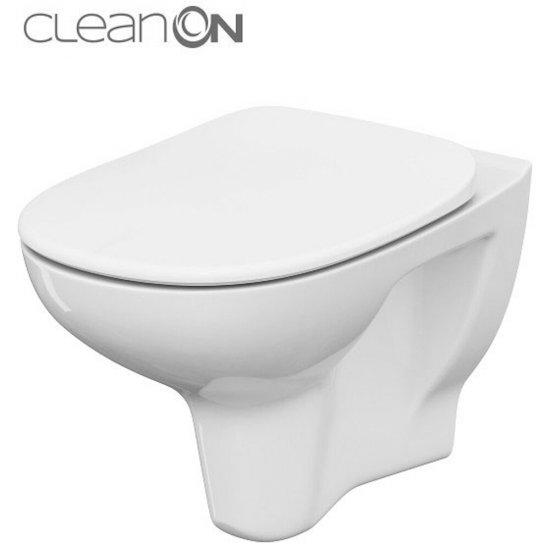 Miska WC podwieszana ARTECO NEW deska polipropylenowa wolnoopadająca
