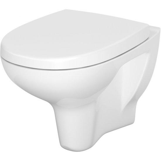 Miska WC podwieszana 813 ARTECO NEW deska duroplast antybakteryjna wolnoopad łatwe wypinanie