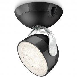Lampa sufitowa 1x3W DYNA, LED czarna 53230/30/16 Philips