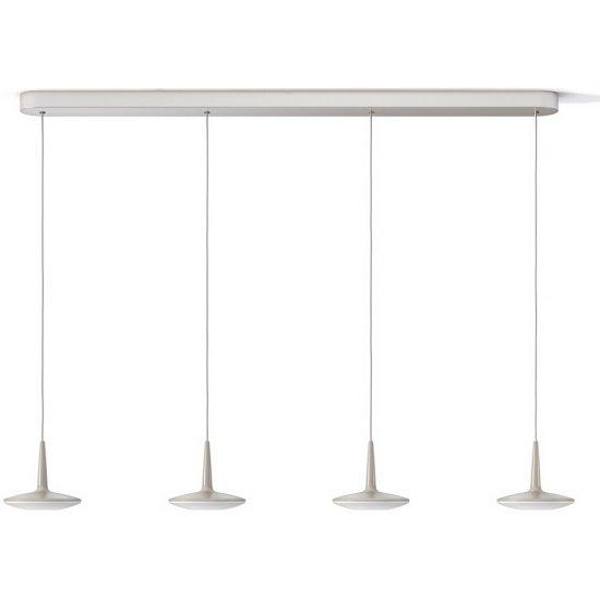 Lampa wisząca 4x4,5 W ATTILIO LED 40910/17/16 Philips
