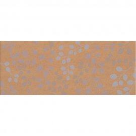 Płytka ścienna KATIO brązowa liście mat 20x50 gat. I
