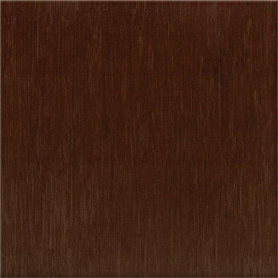 Płytka podłogowa FLORES brązowa mat 33,3x33,3 gat. I
