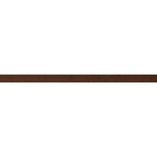 Płytka ścienna OXIA brązowa listwa szklana 2,5x50 gat. I