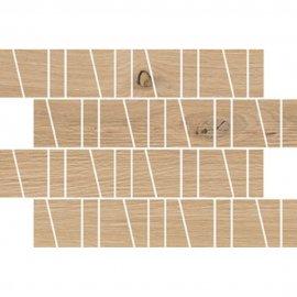 Płytka ścienna SANDWOOD beżowa mozaika trapez mat 20x29,9 gat. I