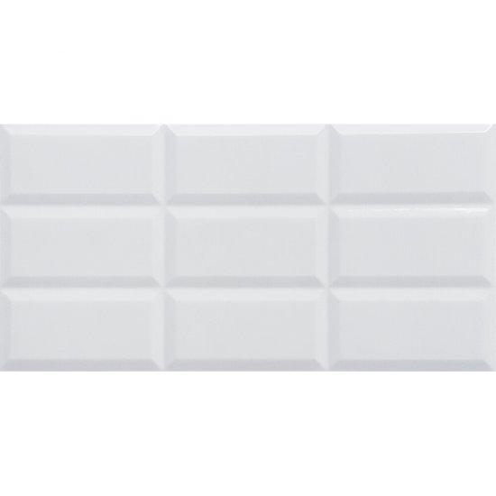 Płytka ścienna WHITE BABILON SHINY biała błyszcząca 30x60 gat. I