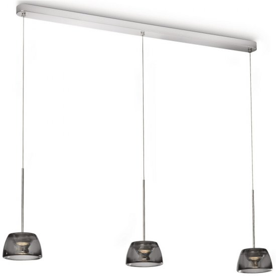 Lampa wisząca 3x6W CLARIO LED 40726/11/16 Philips
