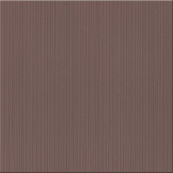 Płytka podłogowa LORENA brązowa błyszcząca 35x35 gat. I