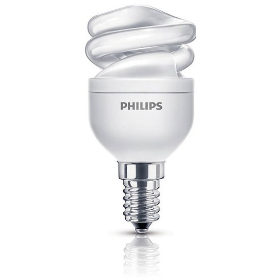 Świetlówka kompaktowa Economy Twister 5W E14 biała ciepła Philips