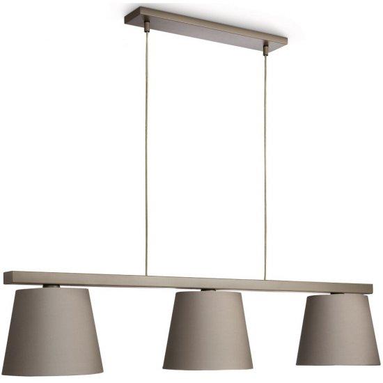 Lampa wisząca 3x23W SHADY szara 40795/26/16 Philips