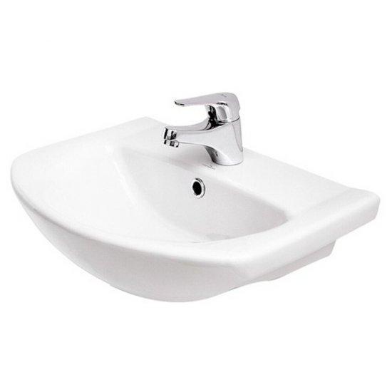 Umywalka pojedyncza meblowa LIBRA 50 biała