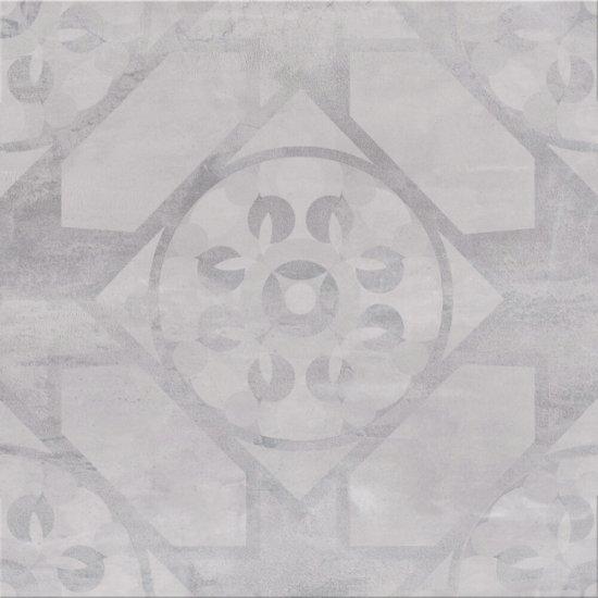 Gres szkliwiony SILENT STONE jasny szary carpet mat 45x45 gat. I