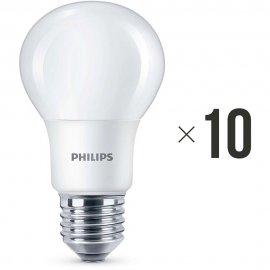 Komplet 10 sztuk żarówek LED 8 W (60 W) E27, 8718696577073 Philips