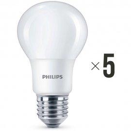 Komplet 5 sztuk żarówek LED 8 W (60 W) E27, 8718696577073 Philips