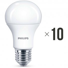 Komplet 10 sztuk żarówek LED 11 W (75 W) E27, 8718696577059 Philips