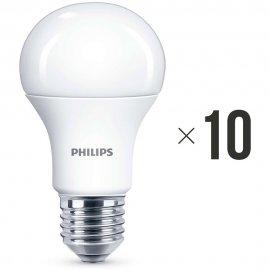 Komplet 10 sztuk żarówek LED 11 W (75 W) E27, 8718696577059 Philips