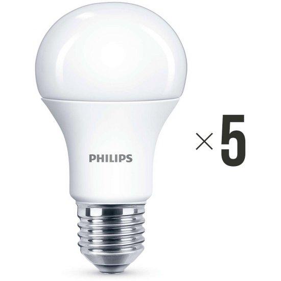 Komplet 5 sztuk żarówek LED 11 W (75 W) E27, 8718696577059 Philips