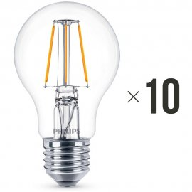 Komplet 10 sztuk żarówek LED 4 W (40 W) E27, 8718696573815 Philips
