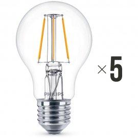 Komplet 5 sztuk żarówek LED 4 W (40 W) E27, 8718696573815 Philips